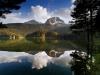 Montenegro - Road to south - Black lake